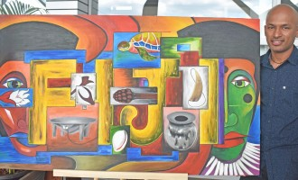 Art Work :Farmer's Artwork To Be Displayed At Modernised Nadi International Airport