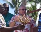 Coral planting on world Tourism Day at Outrigger
