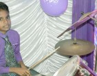 Young Drummer's Natural Talent