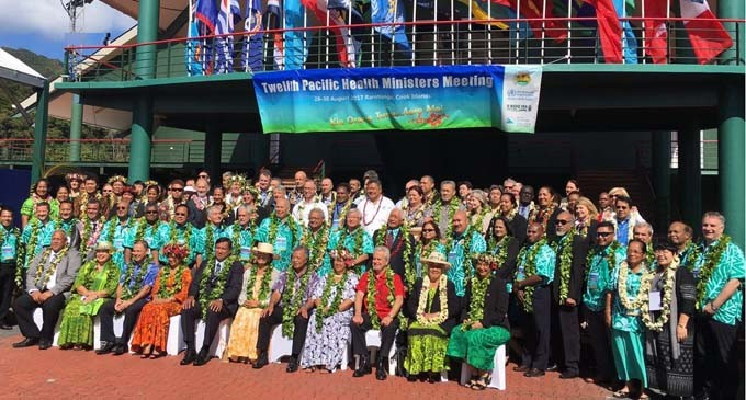 Pacific Health Ministers give support for COP23 Presidency