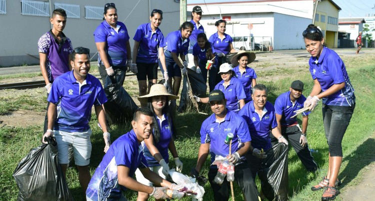 Clean-up Campaign: Jack's In Labasa Joins Anti-Litter Campaign