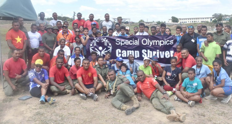 Special camp at Black Rock
