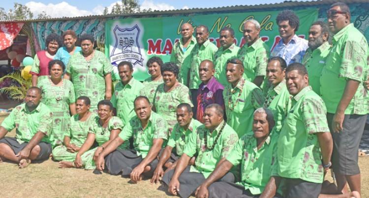 Pillay Tells Of Good Old Memories At Sabeto District School