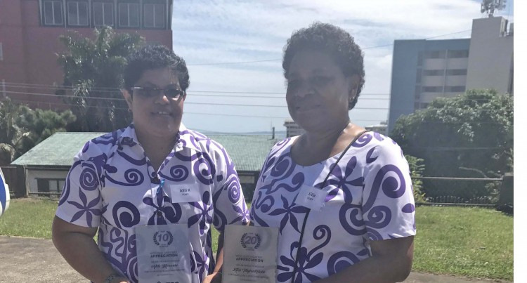 RECOGNITION:Public Service Credit Union Staff Members Recognised