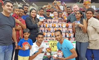 DIWALI: Supermarket Fireworks Cause  Of Excitement To Children