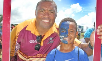 10-Year-Old Kioni Urges Every Fijian to Live Healthy Lifestyle