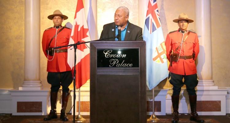 Economic Vision: Business Climate Here More Attractive, Bainimarama Tells Fijians  In Canada
