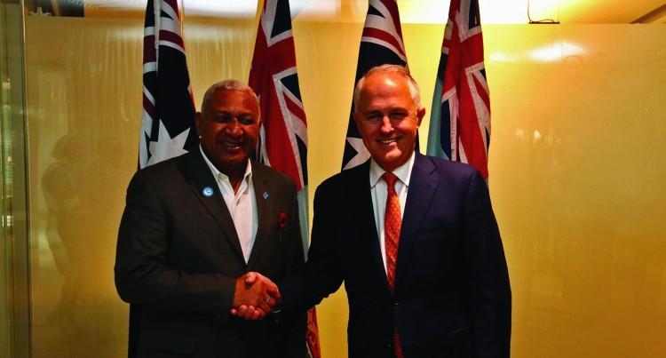 Aust Praises Fijian Leadership
