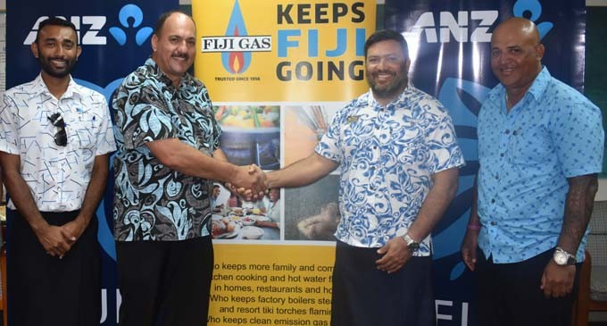 Fiji Gas Is Excellence Award Gold Sponsor