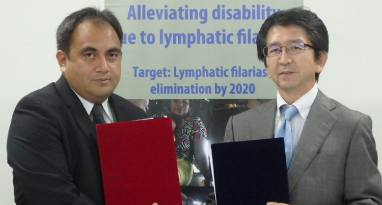 Pact Signed To Eliminate Lymphatic Filariasis
