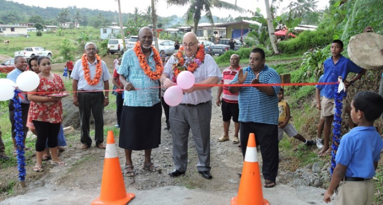 New And Improved Road Brings  Relief For 40 Households