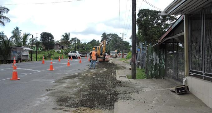 Repair Works Underway At Princes Road