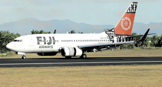 TRAVEL:  Fiji Airways Lands Normally At Honolulu, Hawaii