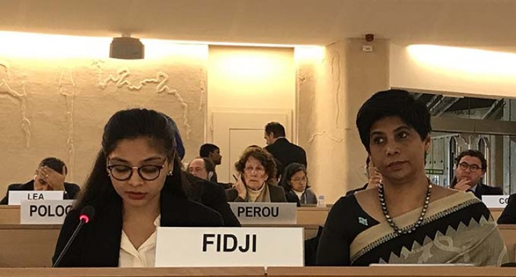 Fijian Delegation Stresses Impact of Climate Displacement on Human Rights