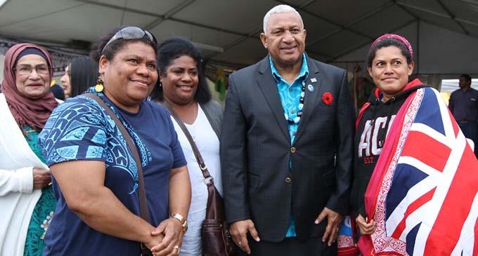 Hon Prime Minister Voreqe Bainimarama in Sydney