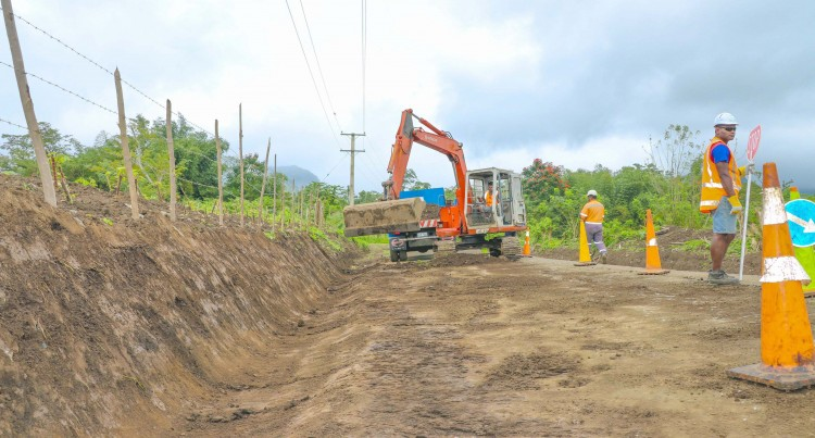 Road Works: Rural Road Upgrade For Tailevu Villages