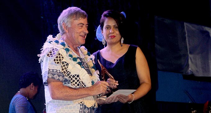 Warran Recognised For Hard Work