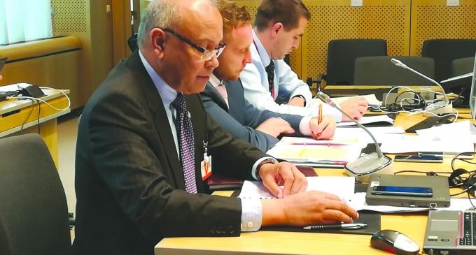 CLIMATE CHANGE: Saran Addresses EU Heads Of Climate