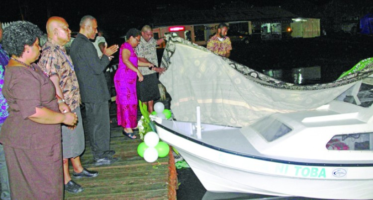 Commissioned vessel takes Govt services to people