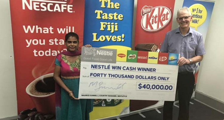 Nestle Makes Lucky Winner $40K Richer