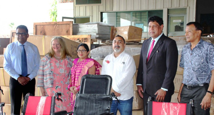 Charity Body Donates Wheelchairs Worth $175,000 to Health Ministry