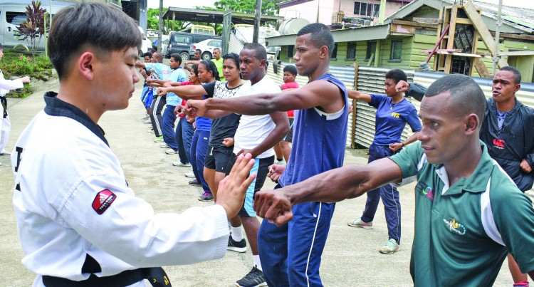 PARTNERSHIP: Youth Band Learn Martial Arts