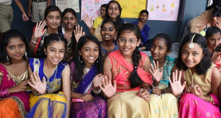 MGM  Primary  Students  Celebrate  Diwali
