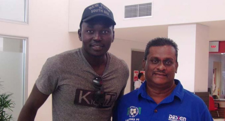 Sudanese Striker For Lautoka