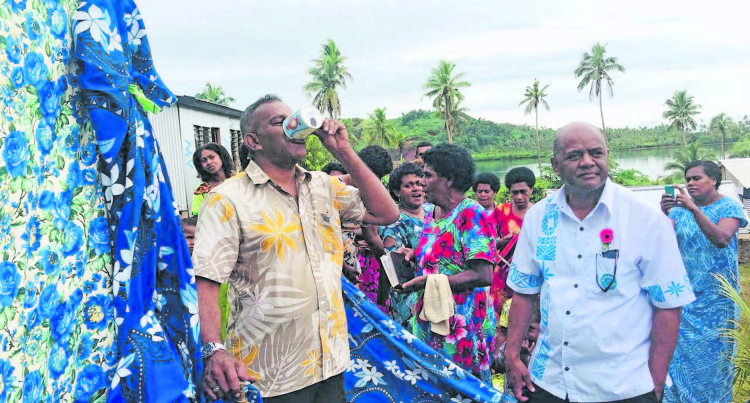 Minister Koya Commissions $33K Borehole At Navatu