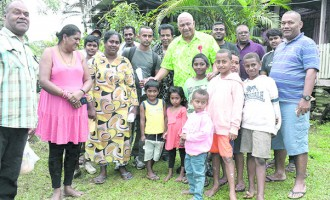 Assistance: Bainimarama Directs Help to Nabua  Fire Victims After Surprise Visit