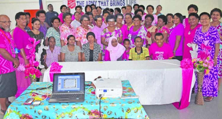 Women host prayer breakfast to mark Pinktober