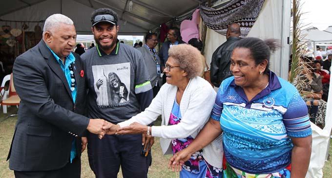Prime Minister Bainimarama meeting Fijians in Sydney