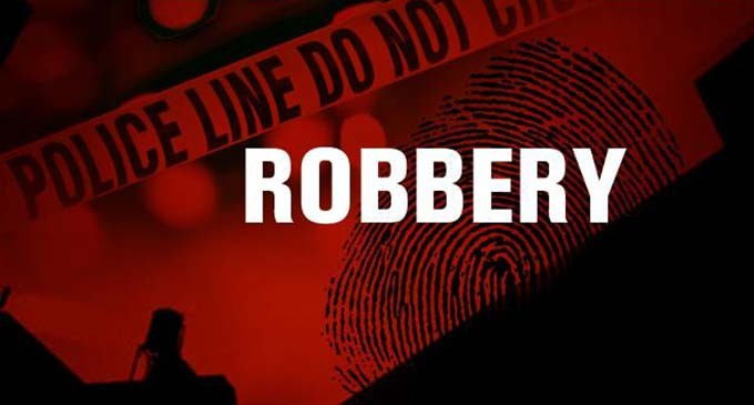 Alleged robber denies charges