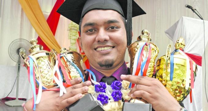 Achievements: Bachelor Kumar Shines In Nurses' Graduation