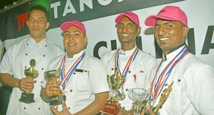 Goundar, Kumar Are Top Chefs