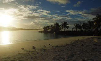 Rotuma Sunset Photo Joins Winners in COP23  Pacific Competition