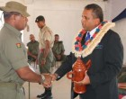 Ravai Reminds Soldiers of Their Importance