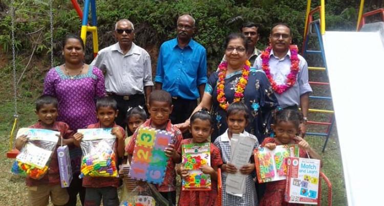 Draladamu Kindergarten Gets Assistance