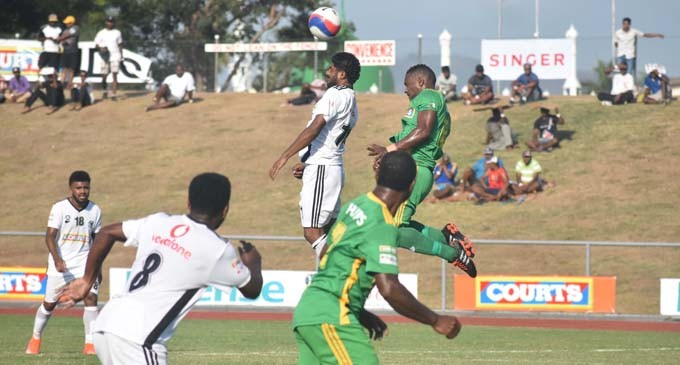 Dave Shines In Suva Win
