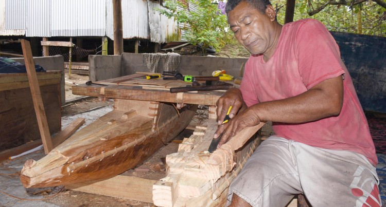 CRAFT: Traditional Boat Builder Domonisera To Showcase Sacred Canoe At COP23