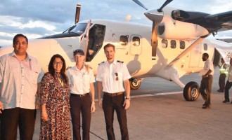 Fiji Link Welcomes Newest Twin Otter