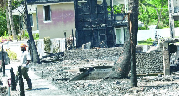 TOURISM: Resort Fire Destroys Four Bures, Business Continues