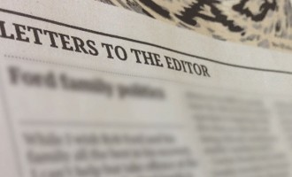 Letters To The Editor, October 02, 2017