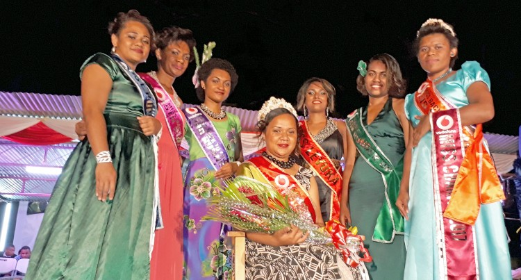 Pageant: Vodafone Back To Levuka Week Queen Crowned