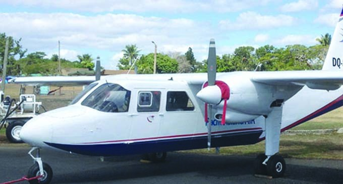 Pacific Island Air Introduce Charter/Scenic Flights Based From Savusavu Airport