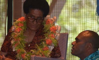 Cakobau Honoured at  Resort's 50th Anniversary