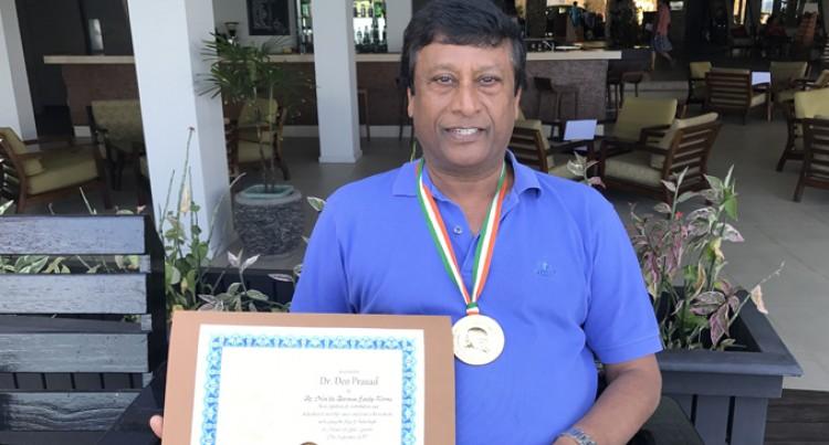 Fijian Academic Wins Non Resident Indian Globally Revered Award