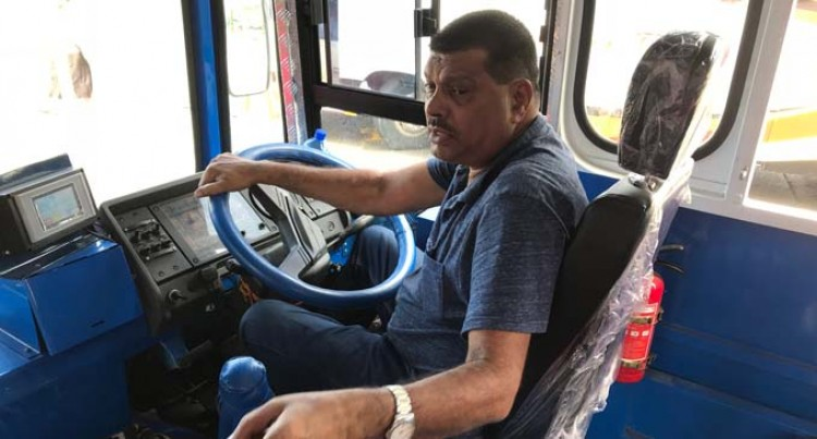 Bus Operator Fills In For His Bus Drivers