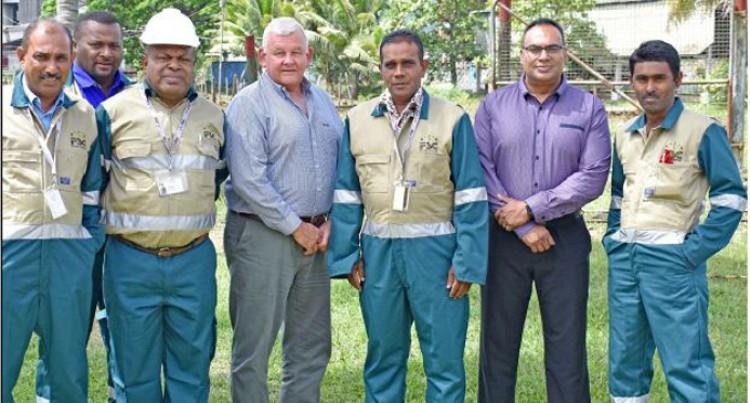 FSC CEO Highlights Employee Safety At Labasa Mill Uniform Presentation
