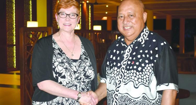 Bilateral Talks: Australian Defence Minister Arrives
